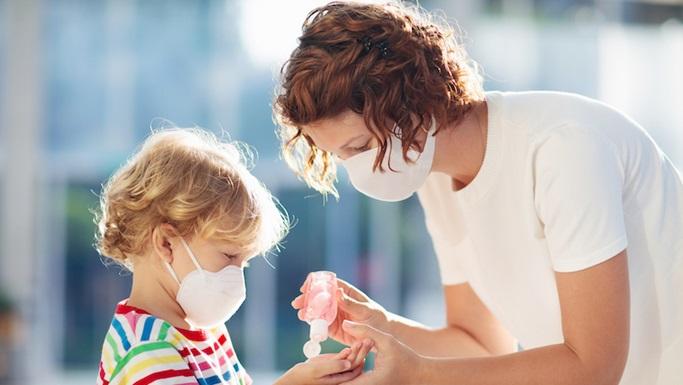Crianças de volta às aulas durante a pandemia